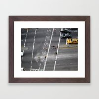 The Bowery, NYC 2011 Framed Art Print