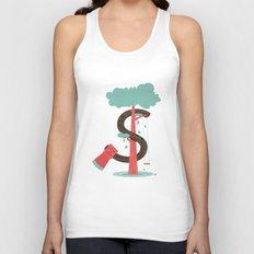 Money and Trees Unisex Tank Top