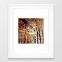 North 3 Framed Art Print