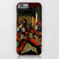 iPhone & iPod Case featuring The Amazing Spider-Pool by Shawn Norton Art