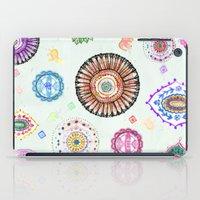Bohemian Mandala Elephant (light) iPad Case