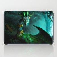 Aztec dragon (older work) iPad Case