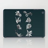 Botanica Letters | Forest Green iPad Case