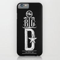 The Big D (wht) iPhone 6 Slim Case