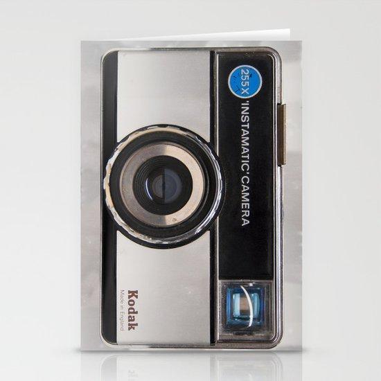 Instamatic Camera Stationery Card