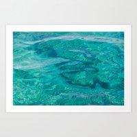 Mediterranean Water Art Print