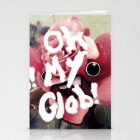 OH MY GLOB! Stationery Cards
