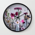 Inside Garden Wall Clock