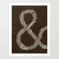 &,&,&: Part 1 Art Print