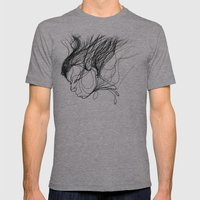 Function Mens Fitted Tee Athletic Grey SMALL