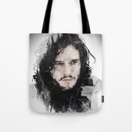 Jon Snow Tote Bag