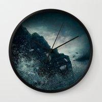 Fallen From Grace Wall Clock
