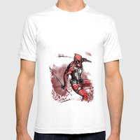 The Merc With The Mouth.… Mens Fitted Tee White SMALL