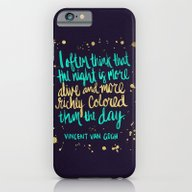 Night Owl On Navy iPhone 6 Slim Case