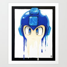 Rocket or Mega? Art Print