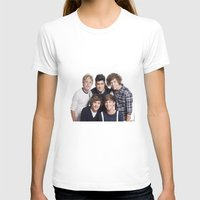 one direction T-shirts featuring One Direction by Sara Khaled
