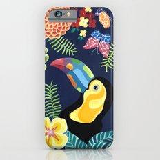 Natures Confetti Toucan iPhone 6s Slim Case