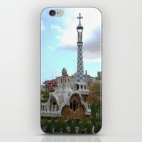 Barcelona, Spain. Parque Guell. iPhone & iPod Skin