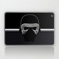 the new villain's helmet, kylo ren Laptop & iPad Skin
