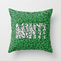 Mint! Throw Pillow