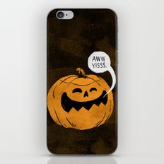 Pumpkin Season iPhone & iPod Skin