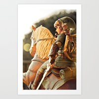 Hero of Hyrule Art Print