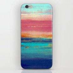 Retro Sunset iPhone & iPod Skin