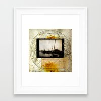 Ephemera 3 Framed Art Print