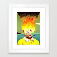 Two Headed Boy Part 2 Framed Art Print