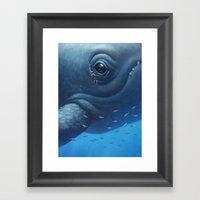 Beneath Framed Art Print