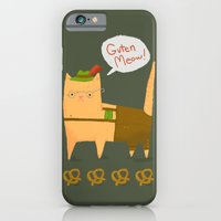 Oktoberfest Kitty iPhone 6 Slim Case