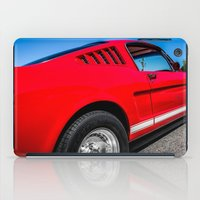 1965 Red Fastback Ford M… iPad Case