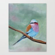 Feather Friends Fourth I… Canvas Print