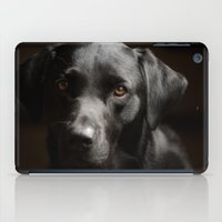Black Labrador   iPad Case