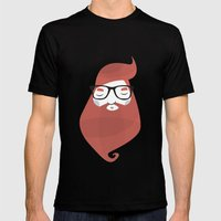 Hipster Mens Fitted Tee Black SMALL