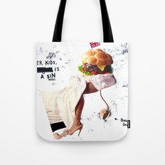Burgery is a Sin Tote Bag