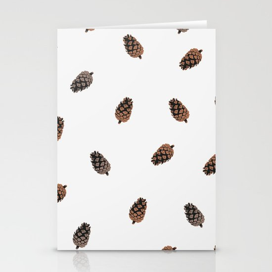 Cone Pattern Stationery Card