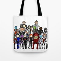Mass Effect Gang Tote Bag