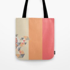 The flower that drinking coffee Tote Bag