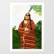 Chickasaw Art Print