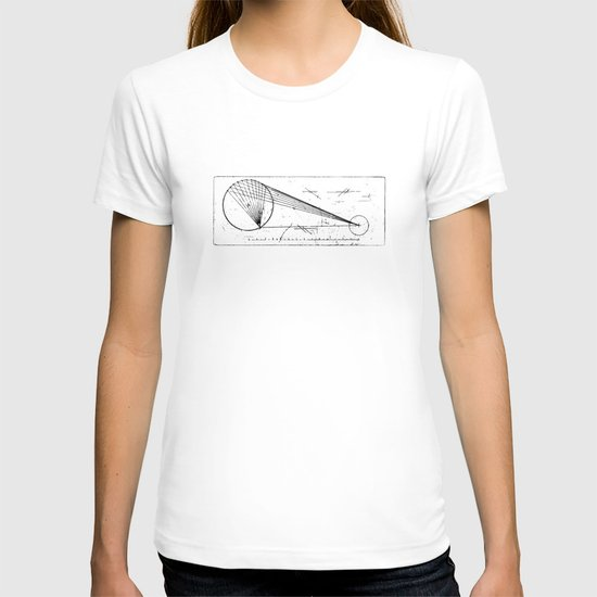 Etched print no. 1 T-shirt