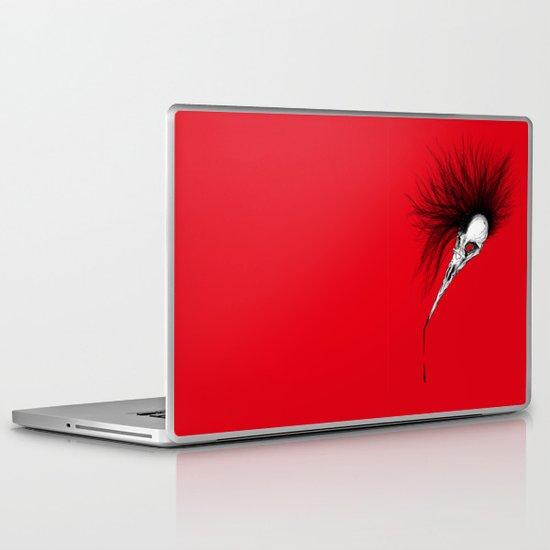 Bird Skull Laptop & iPad Skin