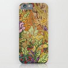 Floral Garden Slim Case iPhone 6s