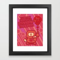 I Lost My Heart To A Sta… Framed Art Print