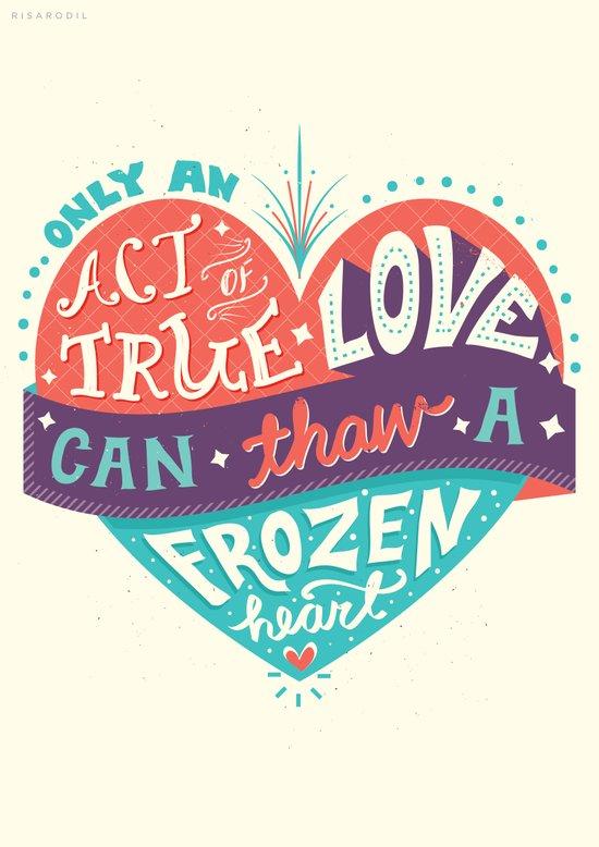 Frozen: Act of True Love Art Print