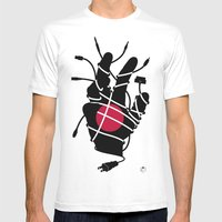 Culture Shock - H Mens Fitted Tee White SMALL