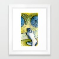 Perchance to Dream Framed Art Print