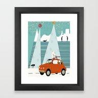 The Polar Express Framed Art Print