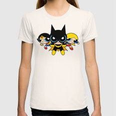 Supertough Girls Womens Fitted Tee Natural SMALL