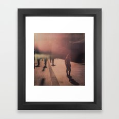 The Stranger Framed Art Print